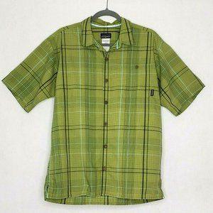 Patagonia Seersucker Button Up Shirt Short Sleeves